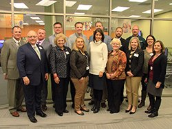Avera Health and eCARE leadership and Rep. Kristi Noem